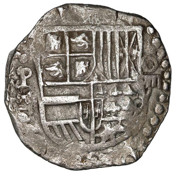 Potosi, Bolivia, cob 8 reales, 1619 T.