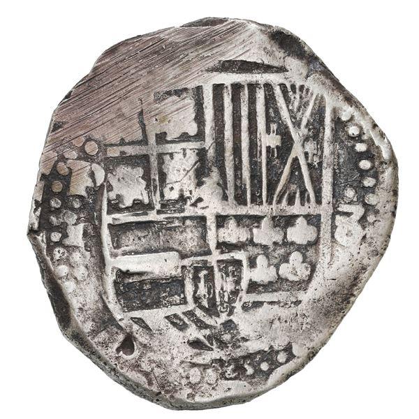 Potosi, Bolivia, cob 8 reales, 1633 T.