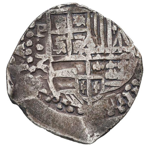 Potosi, Bolivia, cob 8 reales, 1647 Z, very rare.
