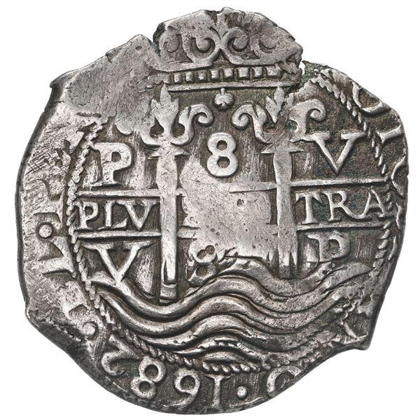 Potosi, Bolivia, cob 8 reales, 1682 V.