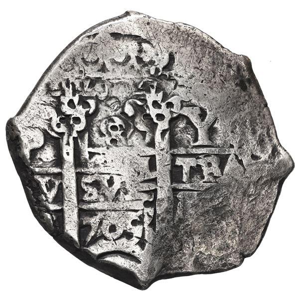 Potosi, Bolivia, cob 8 reales, 1705 Y.