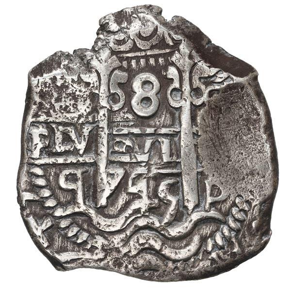 Potosi, Bolivia, cob 8 reales, 1745 q.