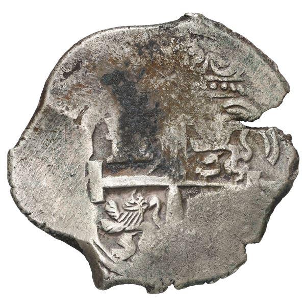 Potosi, Bolivia, cob 4 reales, 1680 V.