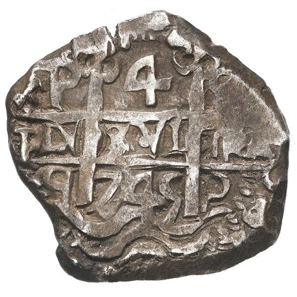 Potosi, Bolivia, cob 4 reales, 1745 q.