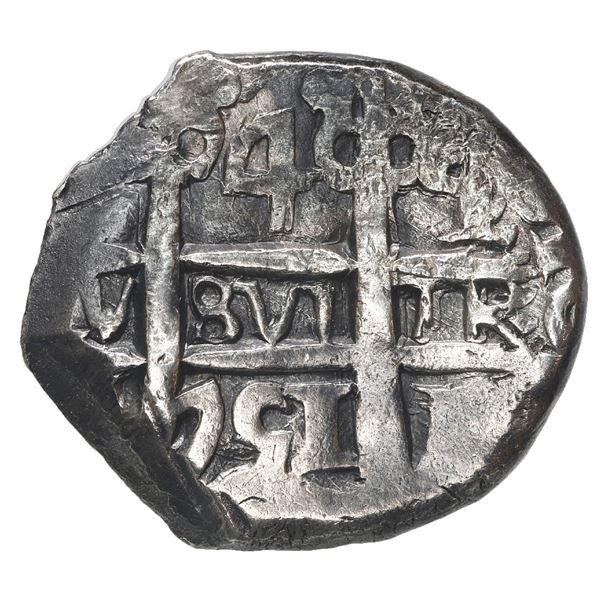 Potosi, Bolivia, cob 4 reales, 1751 q.