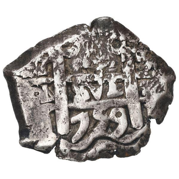 Potosi, Bolivia, cob 4 reales, 1759 q.