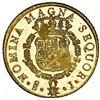 Image 2 : Santiago, Chile, gold bust 8 escudos, Ferdinand VI, 1750 J, NGC MS 62 PL / La Luz (1752), ex-Sotheby
