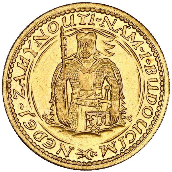 Czechoslovakia, gold dukat, 1933, Kremnitz mint, NGC MS 65.