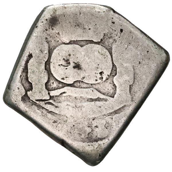 Guatemala, cob 8 reales, 1743/37 (J).