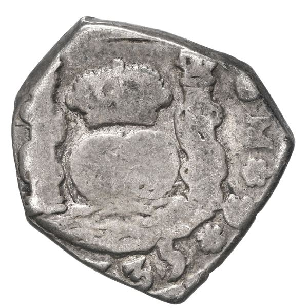 Guatemala, cob 2 reales, 1735 J.