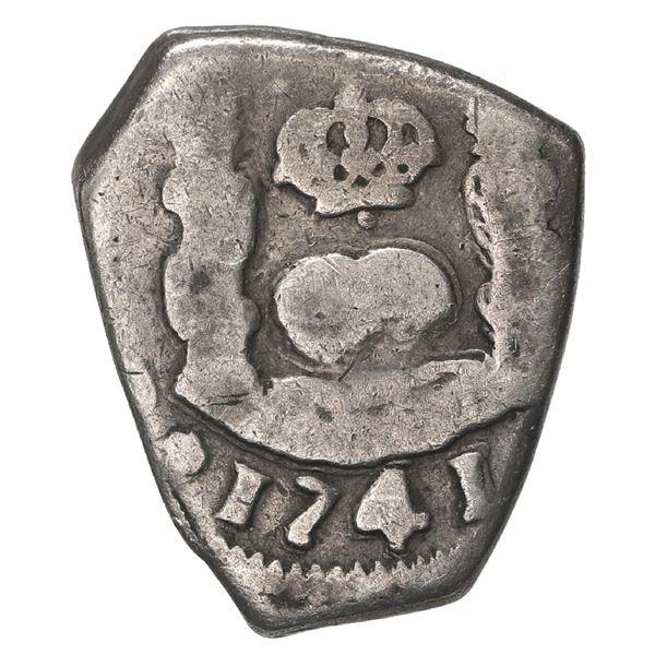 Guatemala, cob 1 real, 1741 J.