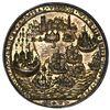 Image 2 : Great Britain, copper alloy Admiral Vernon medal, arms / Porto Bello, 1739, ex-Adams, ex-Chao, ex-Fe