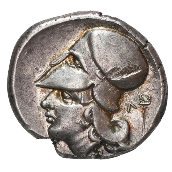 """Akarnania, Leukas, AR stater, ca. 405-335 BC, """"pegasus."""""""