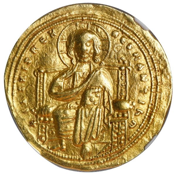 Byzantine Empire, AV histamenon nomisma, Romanus III, 1028-34 AD, Constantinople mint, NGC XF, strik