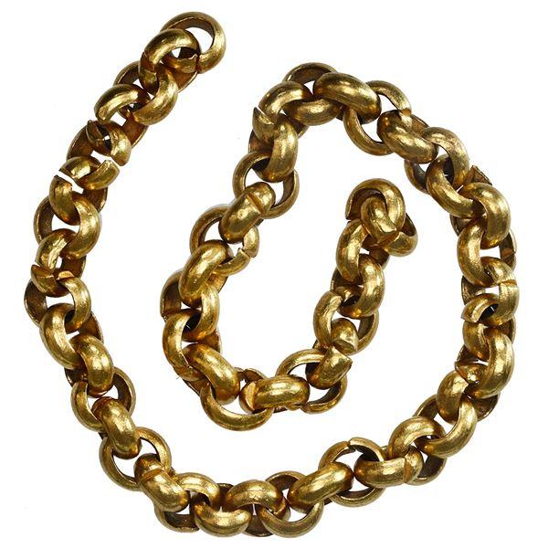 Gold chain, 24.09 grams, 54 links, ex-Santa Margarita (1622).
