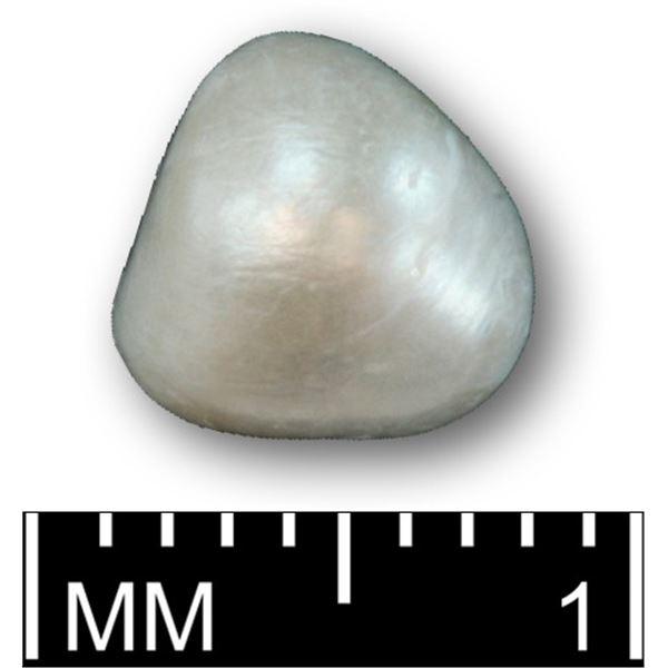 Large, natural pearl, Grade 1AA, 1.98 carats, ex-Santa Margarita (1622).