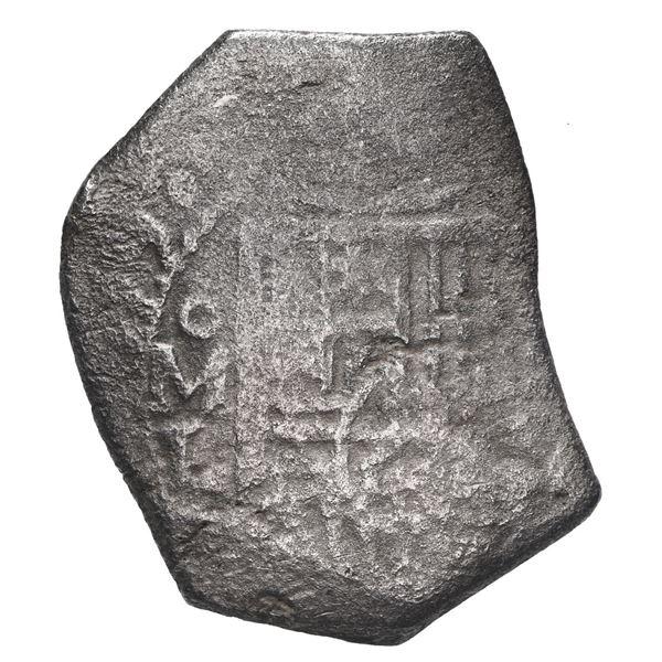Mexico City, Mexico, cob 8 reales, 1679 L.
