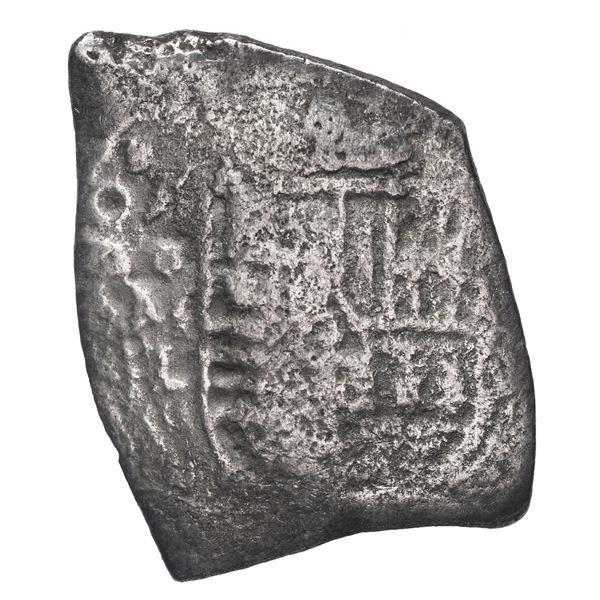 Mexico City, Mexico, cob 8 reales, 1680 L, rare.