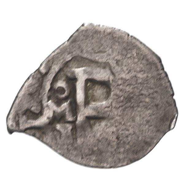 Mexico City, Mexico, cob 1/2 real, 1709 J, rare.