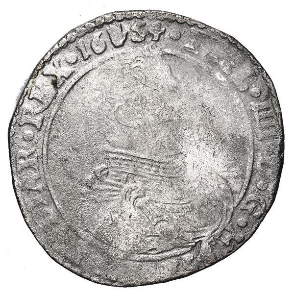 Brabant, Spanish Netherlands (Antwerp Mint), portrait 1/2 ducatoon, Philip IV, 1654.