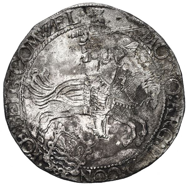 "Zeeland, United Netherlands, ""rider"" ducatoon, 1662."