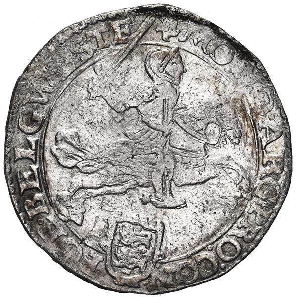 """Westfriesland, United Netherlands, """"rider"""" ducatoon, 1664."""
