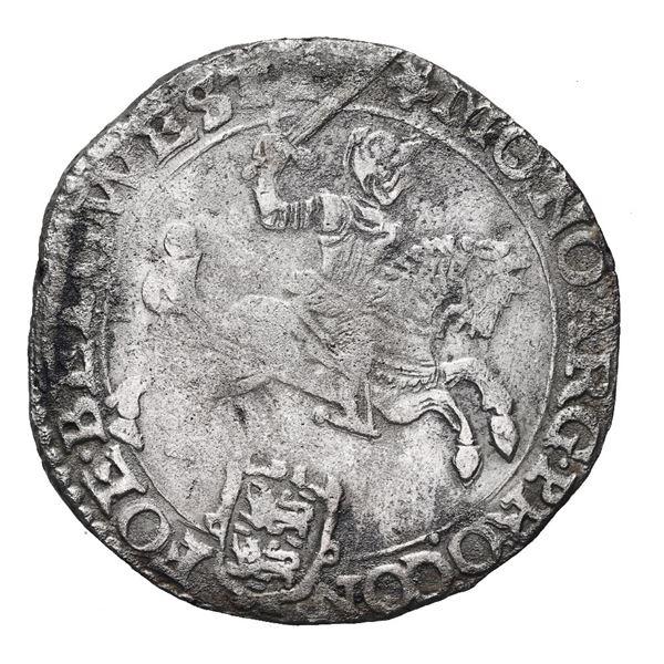 """Westfriesland, United Netherlands, """"rider"""" ducatoon, 1668."""