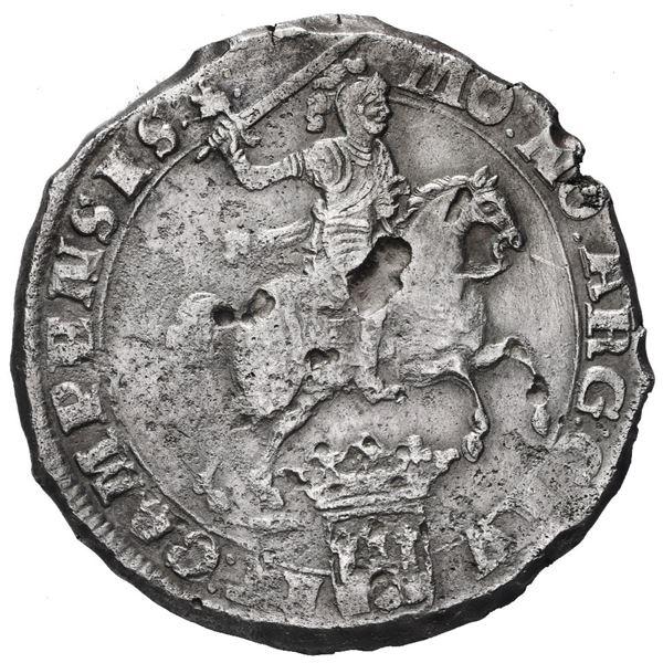 "Campen, United Netherlands, ""rider"" ducatoon, 1680/79."
