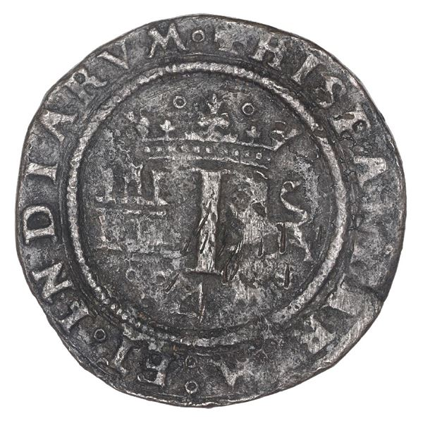 "Mexico City, Mexico, copper 4 maravedis, Charles-Joanna, ""Late Series,"" no assayer (G), king's name"
