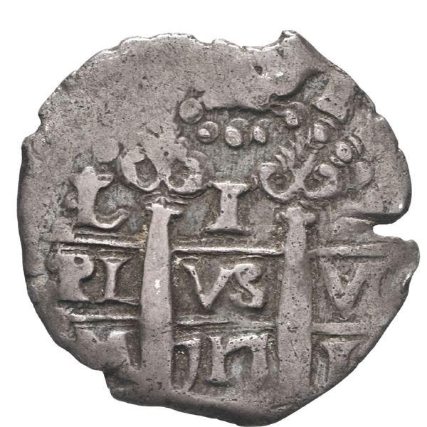 Lima, Peru, cob 1 real, 1717 M.
