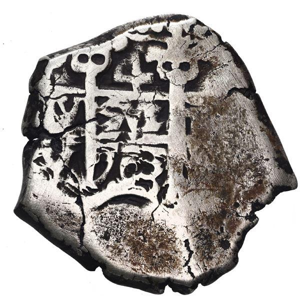 Potosi, Bolivia, cob 4 reales, 1703 Y.