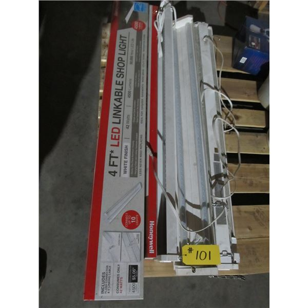 5 - 4' LED LIGHT FIXTURES (ALL FOR ONE MONEY)