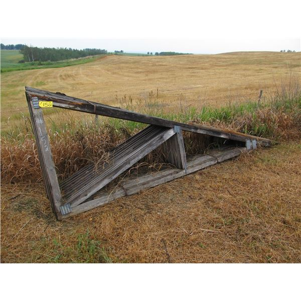 """11 - 13' X 2 X 4"""" TRUSSES (COUPLE SHOW ROT)"""