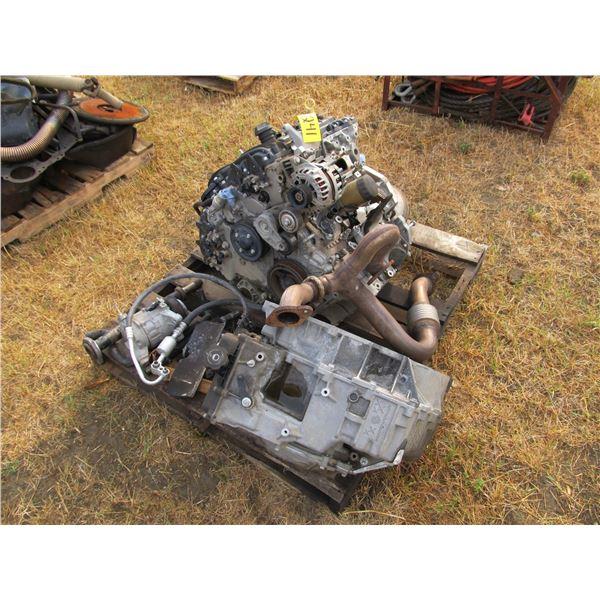 3.6 L CHEV ENGINE (CONDITION UNKNOWN)