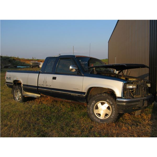1992 CHEV 1500 EXTENDED CAB LONG BOX