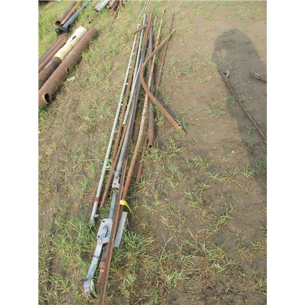 GALVANIZED AND STEEL TUBING