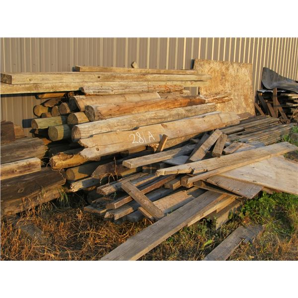 APPROXIMATELY 50 CORRAL/FENCE POSTS
