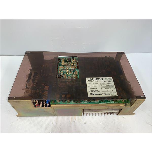 Okuma # LDU-600 DC Servo Drive Unit XB Axis 25 Amp