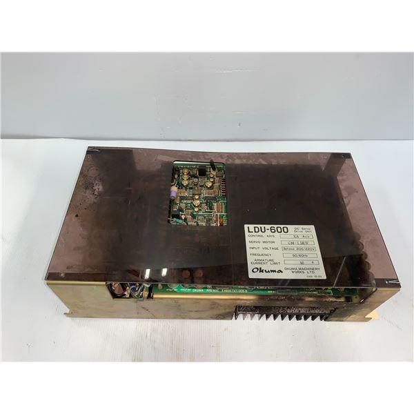 Okuma # LDU-600 DC Servo Drive Unit XA Axis 50 Amp