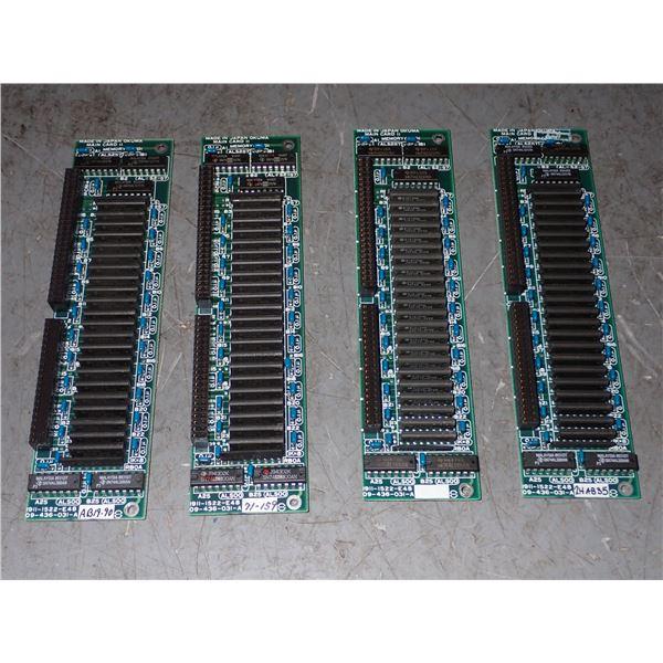 Lot of (4) OKUMA #1911-1522-E48 Circuit Boards
