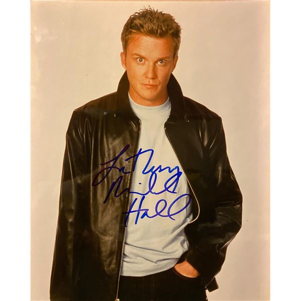 The Dead Zone Anthony Michael Hall signed photo