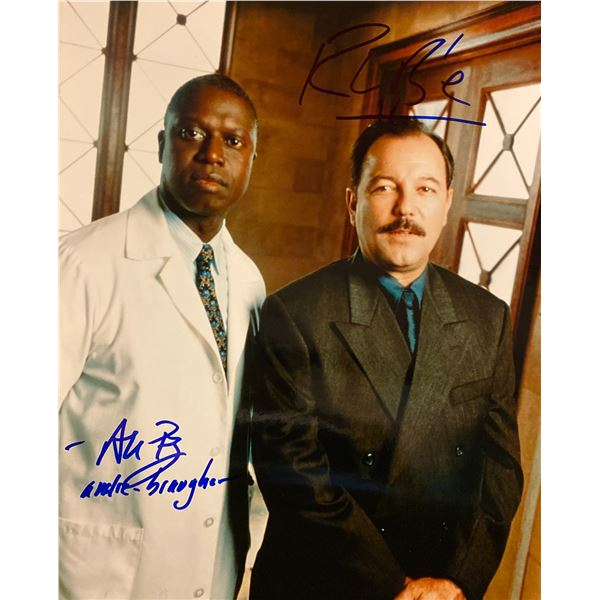 Gideon's Crossing Andre Braugher and Ruben Blades signed photo