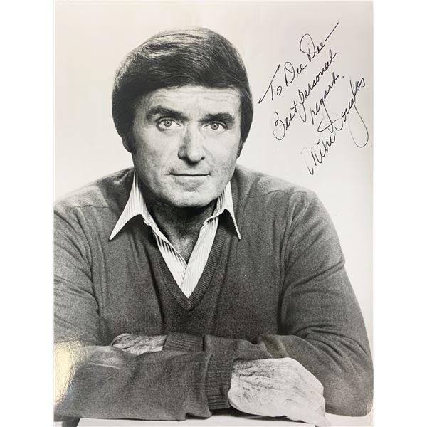 Mike Douglas signed photo