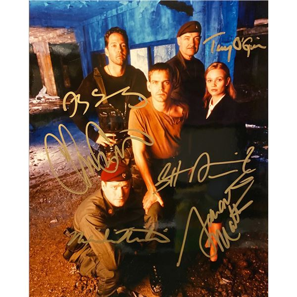 Harsh Realm cast signed photo