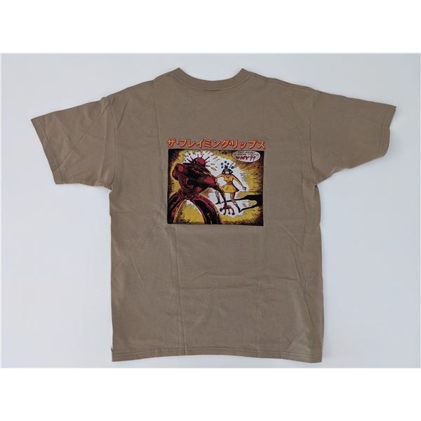 Flaming Lips 2002 Yoshimi Battles The Pink Robots Tour Shirt