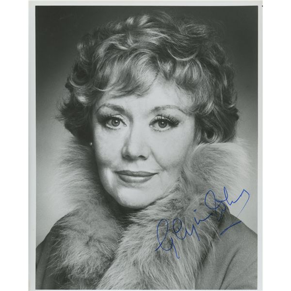 Glynis Johns signed photo