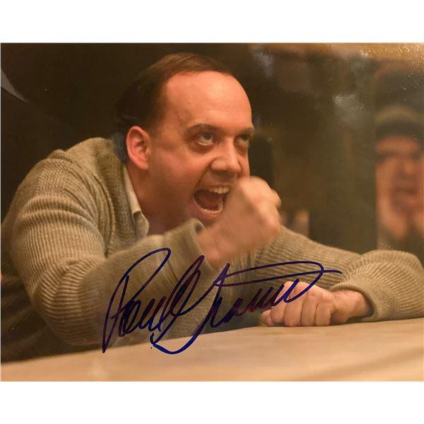 Paul Giamatti signed photo