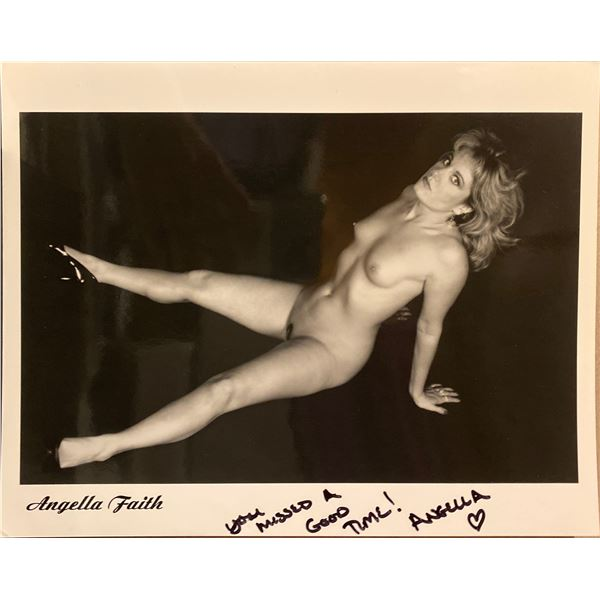 Angella Faith signed photo