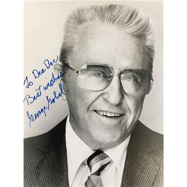 George Gobel Signed Photo