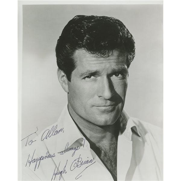 Hugh O'Brian signed photo